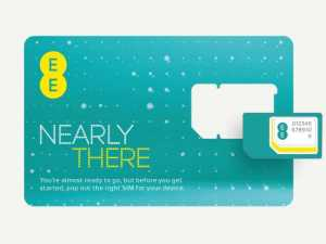 4G SIM from EE